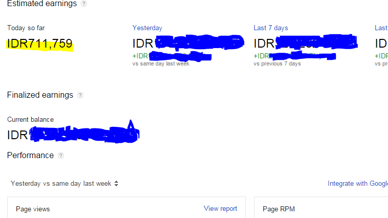 Pengalaman Maen Google AdSense