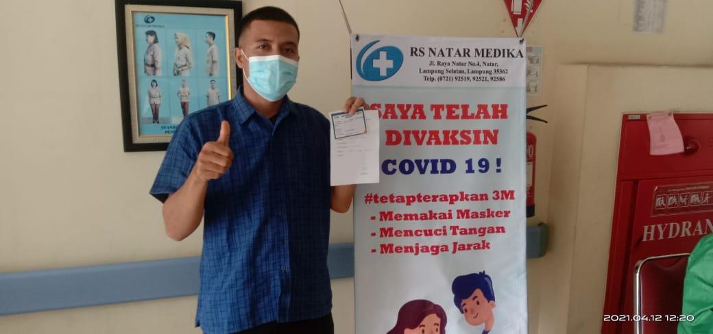 Pengalaman Saya Vaksinasi Covid-19 Tahap 1 di Rumah Sakit Natar Medica